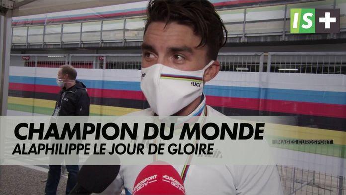 Alaphilippe, le jour de gloire : Mondiaux cyclisme