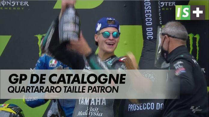 Quartararo, taille patron : Grand prix de Catalogne