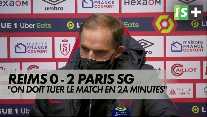 """Tuchel : """"on doit tuer le match en 20 minutes"""" : Ligue 1 Uber Eats"""
