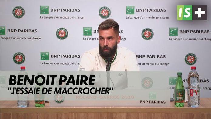"""Benoit Paire : """" J'essaie de m'accrocher"""" : Roland Garros - 1er tour"""