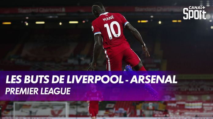 Les buts de Liverpool - Arsenal : Premier League