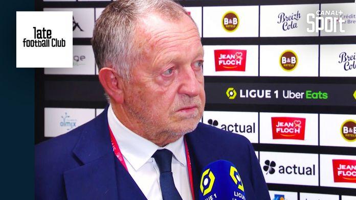 Jean-Michel Aulas fait le point sur le mercato de l'OL : Late Football Club