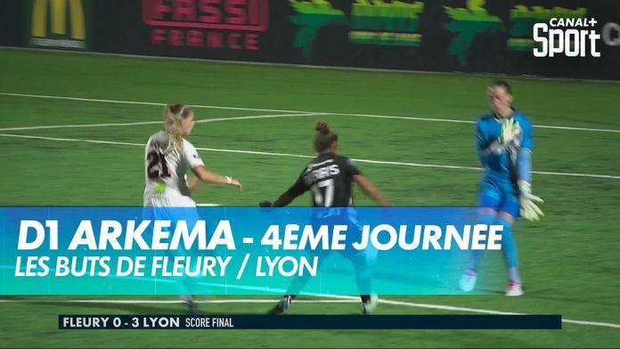 Les buts de Fleury / Lyon : D1 Arkema
