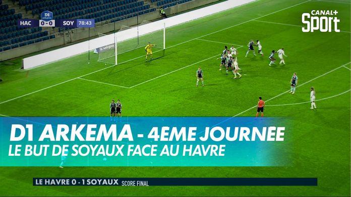 Le but de Soyaux face au Havre : D1 Arkema