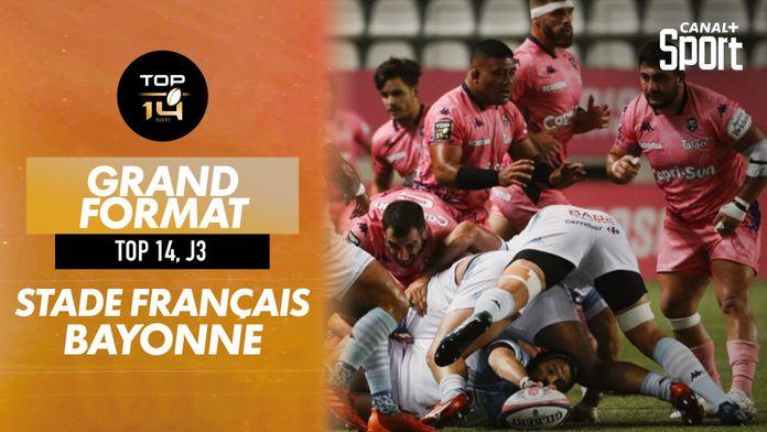 Le grand format de Stade Français / Bayonne : TOP 14