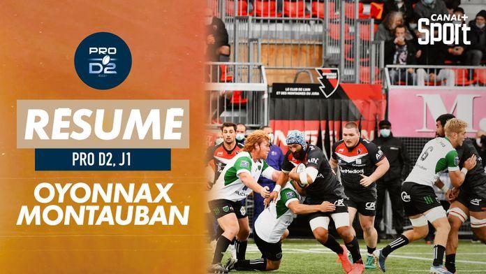 Le résumé Jour De Rugby d'Oyonnax / Montauban : PRO D2