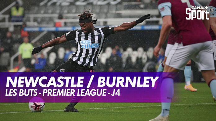 Les buts de Newcastle / Burnley : Premier League