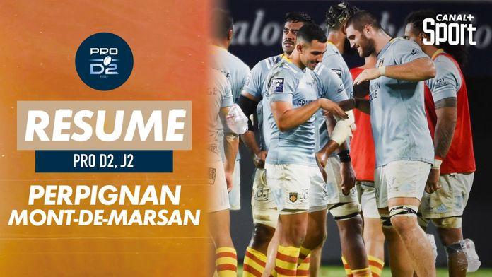 Le résumé de Perpignan / Mont-de-Marsan : PRO D2