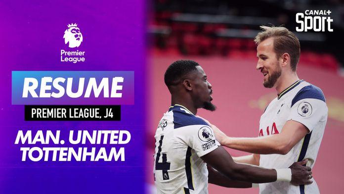 Le résumé de Manchester United - Tottenham en VO : Premier League