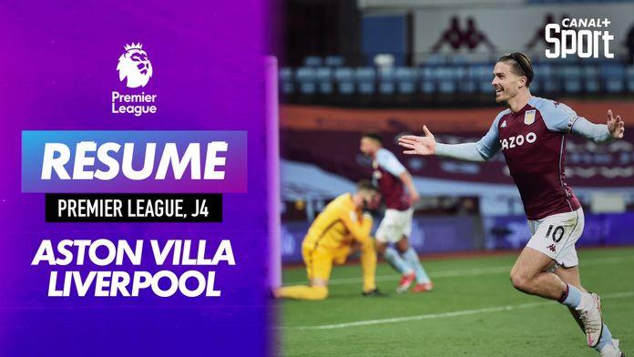 Le résumé d'Aston Villa - Liverpool en VO : Premier League