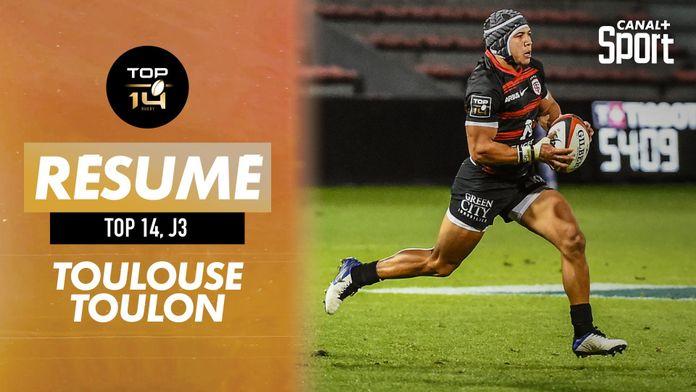 Le résumé grand format de Toulouse - Toulon : Top 14