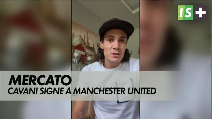 Cavani débarque à Manchester United : Mercato dernier jour