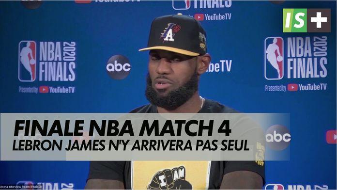 James n'y arrivera pas seul : NBA - Finales match 4