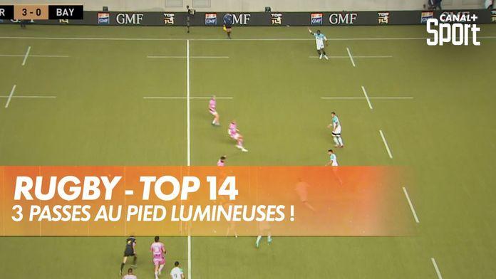 Rugby, le top 3 des passes au pied