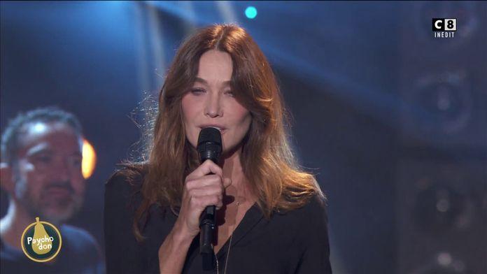 Carla Bruni - Quelque chose (LIVE)