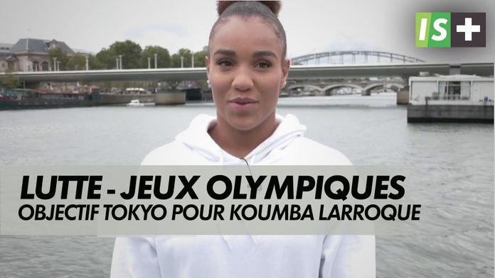 Objectif Tokyo pour Koumba Larroque : JO Tokyo - Lutte