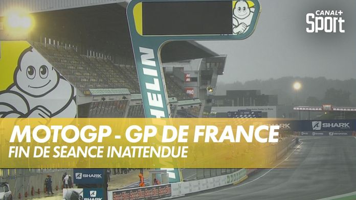 Séance d'essais libres sous la pluie ! : Moto GP