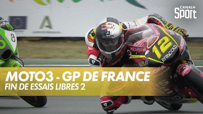 Fin des essais libres 2 ! : Moto 3