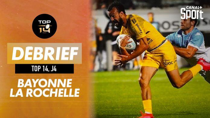 Le résumé de Bayonne / La Rochelle : TOP 14