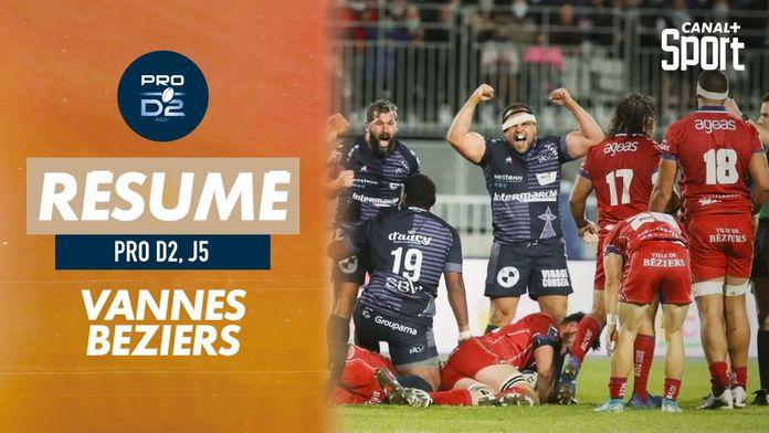 Le résumé de Vannes / Béziers : PRO D2