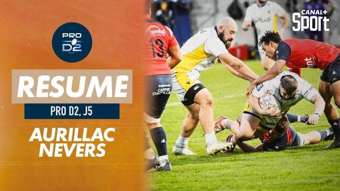 Le résumé de Aurillac / Nevers : PRO D2