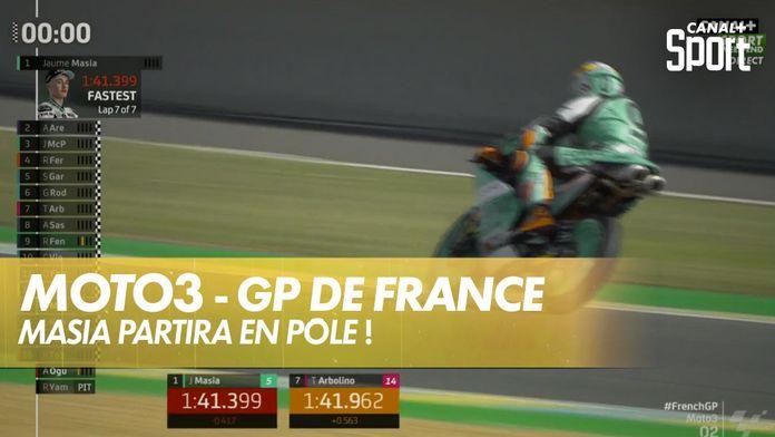 Jaume Masia en pôle avec le record de piste ! : SHARK Helmets GP de France