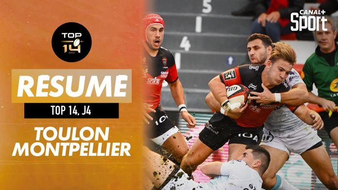 Le résumé Jour de Rugby de Toulon / Montpellier : TOP 14