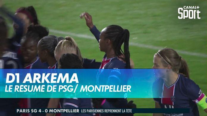 Le résumé de PSG / Montpellier : D1 Arkema