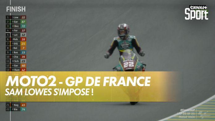 Sam Lowes maître du Bugatti en Moto2 ! : SHARK Helmets GP de France