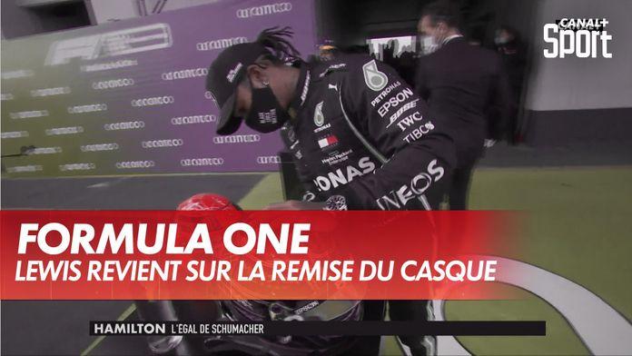 L'émotion de Lewis Hamilton : Grand Prix de l'Eifel