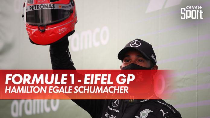 Hamilton égale Schumacher : Grand Prix de l'Eifel