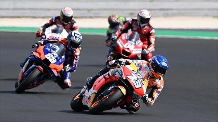 Essais libres 2 des Moto GP