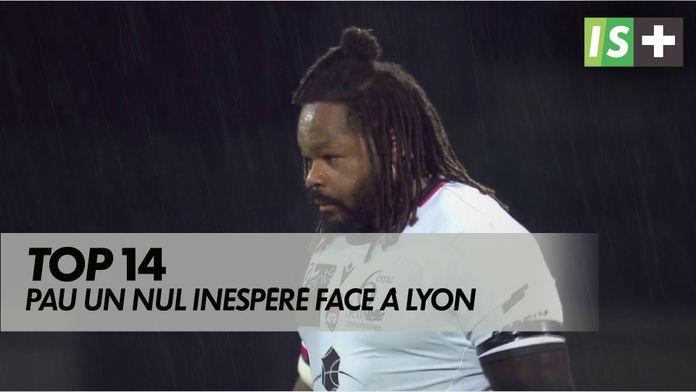 Pau un nul inespéré face à Lyon : TOP 14