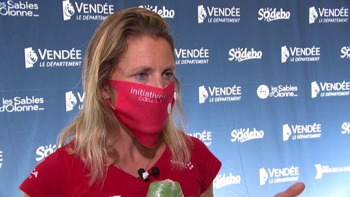 Samantha Davis : La plus française des anglaises : Vendée Globe Challenge