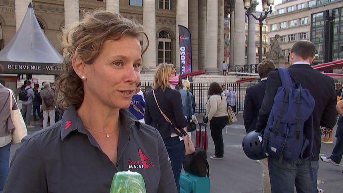 Isabelle Joschke : Une femme forte : Vendée Globe 2020