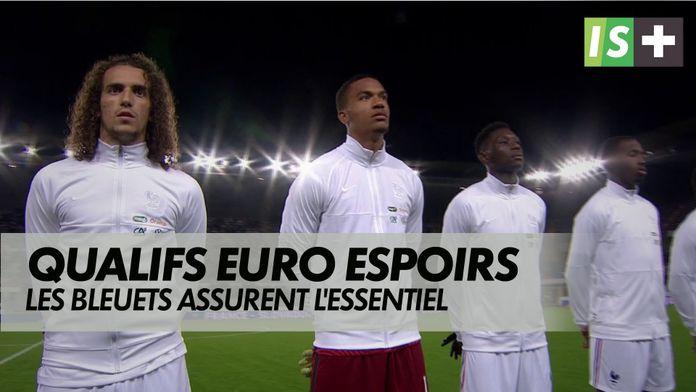 Les Bleuets assurent l'essentiel : Qualifications Euro espoirs