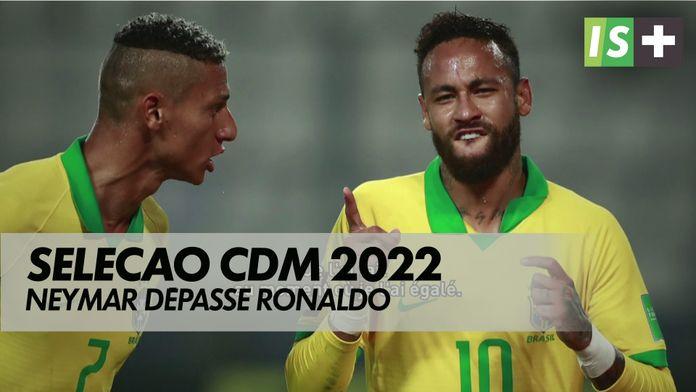 Seleção : Neymar dépasse Ronaldo :  Qualifications CDM 2022