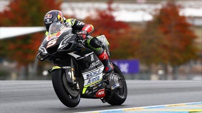 Warm-up des Moto GP