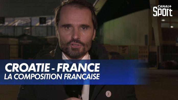 La composition de l'Équipe de France