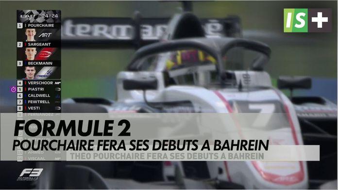 Théo Pourchaire fera ses débuts à Bahreïn : Formule 2