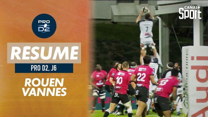 Le résumé de Rouen / Vannes : Pro D2