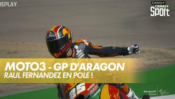 Raul Fernandez solide en qualifications ! : Grand Prix d'Aragon