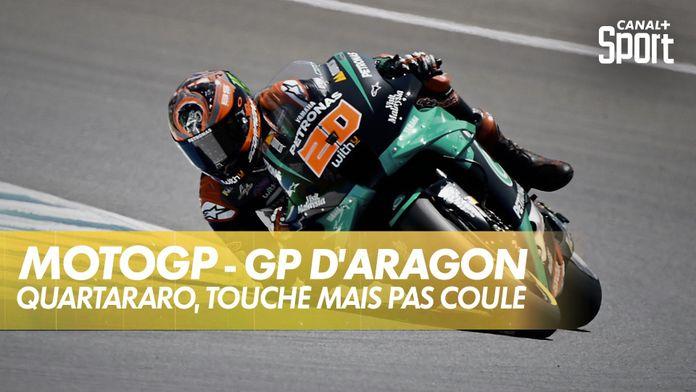 Quartararo, la pole même blessé ! : Grand Prix d'Aragon
