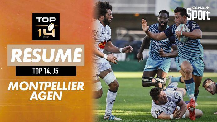 Le résumé Jour De Rugby de Montpellier / Agen : TOP 14