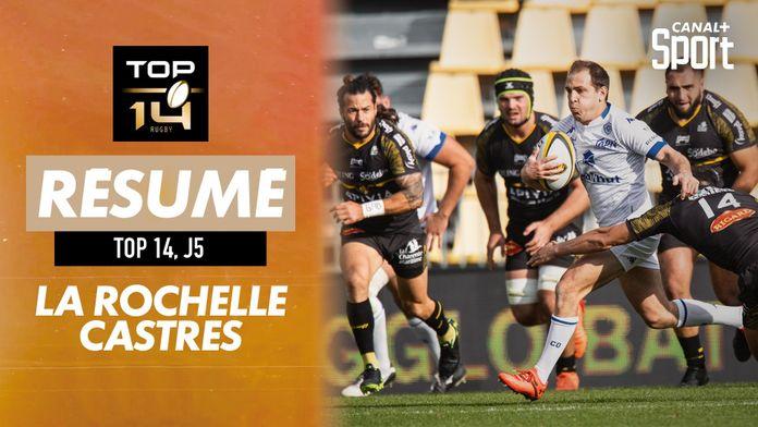 Le résumé Jour De Rugby de La Rochelle / Castres : TOP 14