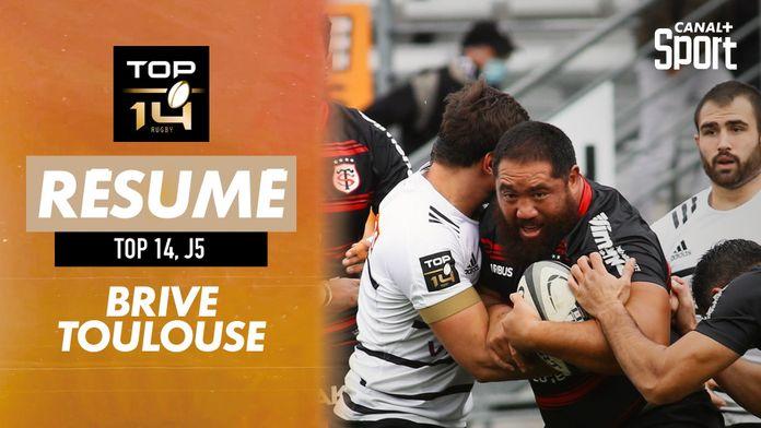 Le résumé Jour De Rugby de Brive / Toulouse : TOP 14