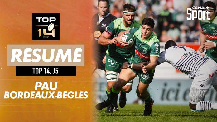 Le résumé Jour De Rugby de Pau / Bordeaux-Bègles : TOP 14