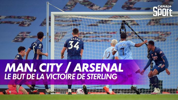 Le but de la victoire de Sterling contre Arsenal : Premier League, 5ème journée