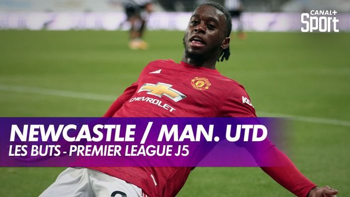 Les buts de Newcastle / Manchester United : Premier League