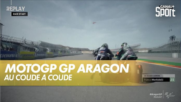 Le replay du départ au coude à coude : Grand Prix d'Aragon